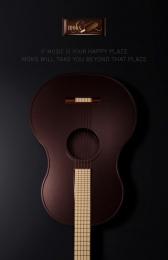 Moks: Guitar Print Ad by Nabaroski Cairo