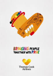 Thomas Cook Group Airlines: Bringing People Together With Pride, 6 Outdoor Advert by BJL Manchester