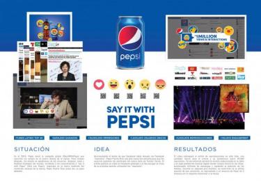 Pepsi: Say it with Pepsi [spanish image] Digital Advert by Mirum Puerto Rico