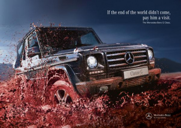 Mercedes-Benz: END OF THE WORLD Print Ad by BBDO Lisbon