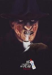 Magro: No calories, Freddy Print Ad by Bangboo