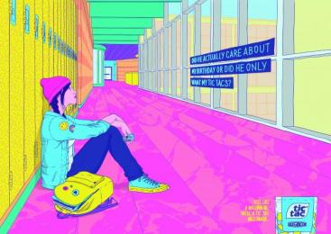 Tic-tac: Birthday [alternative color spectrum] Print Ad by La Comunidad Buenos Aires