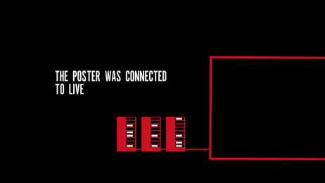 Hiscox: Cyber Live Ambient Advert by AMV BBDO London, Grand Visual