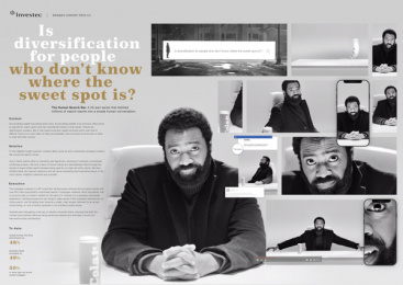Investec: The Human Search Bar, 1 Print Ad by Ogilvy Johannesburg