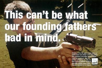 Gun Safety: FOUNDING FATHERS Print Ad by Fallon Mcelligott