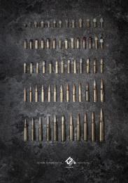 13eme Rue (13th Street): Bullets Print Ad by Sra Rushmore
