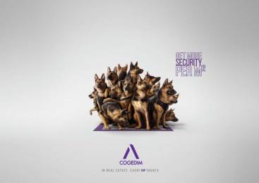 Cogedim: Security Print Ad by Babel Paris, Illusion
