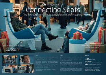 KLM Royal Dutch Airlines: Case study Digital Advert by DDB & Tribal Amsterdam