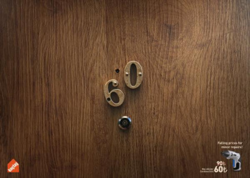 Koctas: Door Print Ad by DDB & Co Istanbul