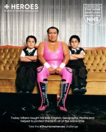 Heroes: #StayHomeHeroes, 1 Digital Advert by Iris London