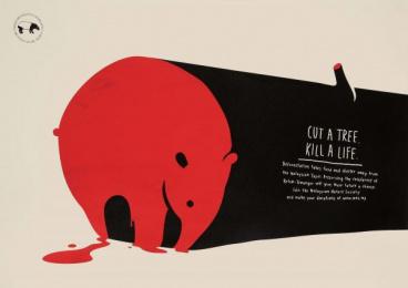 Malaysian Nature Society: Tapir [english] Print Ad by Y&R Kuala Lumpur