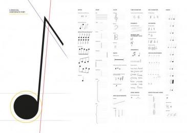Berliner Philharmonie: A Musical Corporate Font [image] 2 Design & Branding by Atelier Dreibholz Vienna, Scholz & Friends Berlin