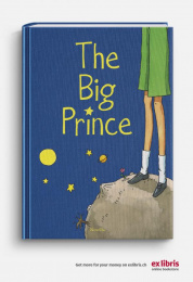 Ex Libris: The Big Prince Print Ad by Ruf Lanz