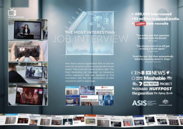 Australian Secret Intelligence Service (ASIS): Case study Film by Cummins & Partners Melbourne