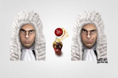 Pata Roja: Judge Print Ad by BBDO Santiago