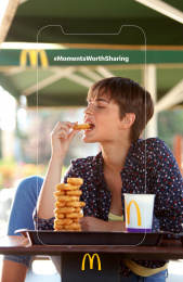 McDonald's: Moments Worth Sharing, 2 Print Ad by DDB Athens
