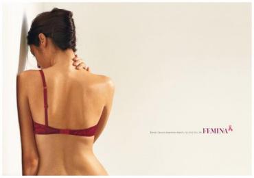 Bennett & Coleman: BREAST CANCER Print Ad by Enterprise Nexus Communications