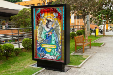 POBRE JUAN: Sacred Poster, 1 Outdoor Advert by Dentsu Latin America Sao Paulo