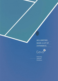 Gava Ambientes Completos: Millimeters Make a Lot of Difference, 1 Print Ad by Fosbury&Brothers Parana