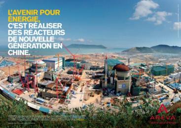 Areva: The Future for energy, 1 Print Ad by Havas Worldwide Paris
