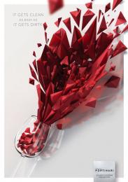 Ceramica Portinari: Wine stain Print Ad by Brainbox Branding 360 Curitiba