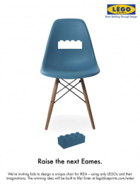 IKEA: Raise The Next Eames Print Ad by Miami Ad School San Francisco