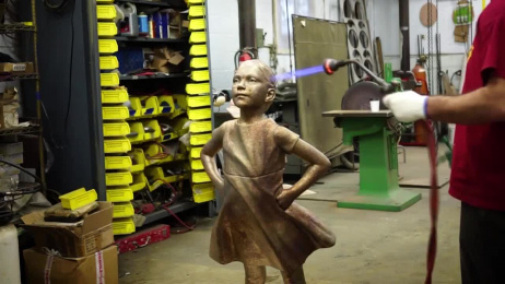 State Street Global Advisors: The Fearless Girl Film by McCann New York, Traction Creative