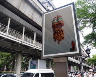 Thermos: Inner warmth - WOOL [billboard] Outdoor Advert by Ogilvy & Mather Bangkok