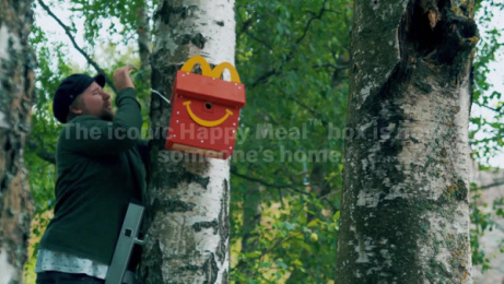 McDonald's: Happy Meal Bird Box DIY Film by NORD DDB Helsinki