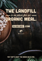 San Francisco Department of the Environment: Landfill Outdoor Advert by Kaboom Productions, School of Thought