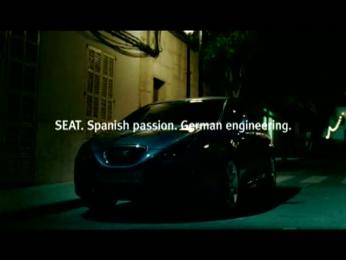 """Seat: Spanish + German """"Einx, Twei, Drei"""" Film by ... & Co., Bacon"""