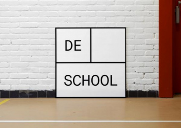 De School: De School Design & Branding by Studio Jeremy Jansen & Mainstudio