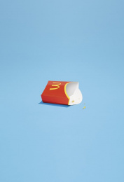 McDonald's: Frenchfries Print Ad by TBWA Paris