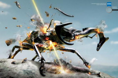 Zeiss: Beetle Outdoor Advert by Y&R Dubai