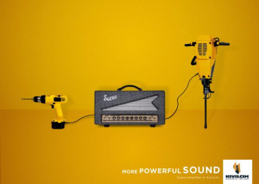 Kıvılcım Müzik: More Powerful Sound, 2 Print Ad by DokuzDoksan