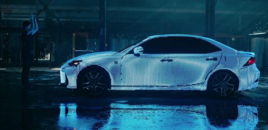 Lexus: Platforms of Expression for a Shareworthy Life Digital Advert by Team One Los Angeles