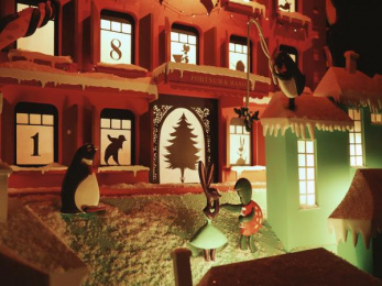 Fortnum & Mason: Christmas Windows, 3 Outdoor Advert by Otherway