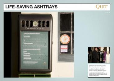 Quit: GRANDAD Ambient Advert by Saatchi & Saatchi London