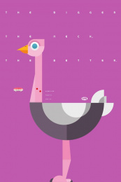 Fini: Ostrich Print Ad by Borghi/Lowe Sao Paulo