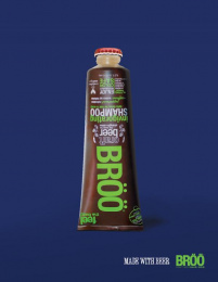 Broo: Made With Beer, 2 Print Ad by S.I. Newhouse School of Public Communications Syracuse New York