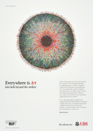 Ubs: Everywhere is Art, 1 Print Ad by Publicis London