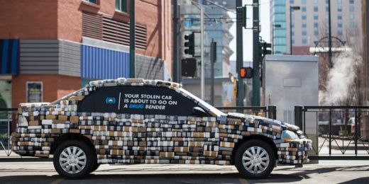 Coloradans Against Auto Theft: Kilo Car Ambient Advert by Amelie Company Denver