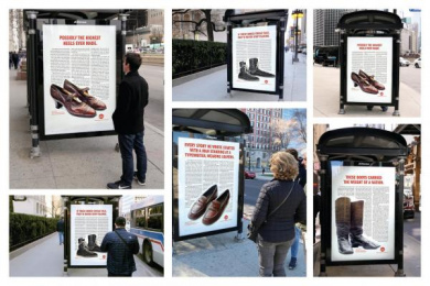 Kiwi: First Steps Outdoor Advert by Ogilvy & Mather Chicago