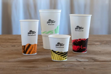 Del Taco: Cups Design & Branding by Camp + King San Francisco