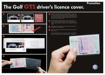 Volkswagen Golf Gti: DRIVER LICENCE Promo / PR Ad by DDB Berlin
