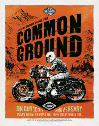 Harley-Davidson: Poster, 1 Print Ad by Zulu Alpha Kilo, Zulubot