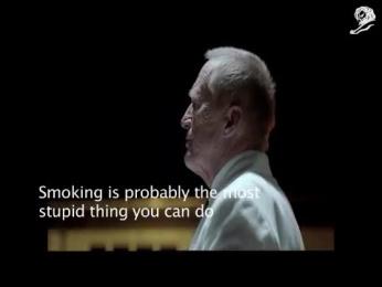ICA: STOP SMOKING Film by Esteban, King