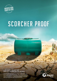 Rapid Spray: Scorcher Proof Print Ad by Redhanded