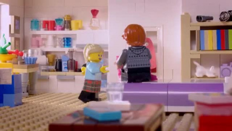 Lego Movie: Lego stop motion commercial for British Telecom Film by TILT Design
