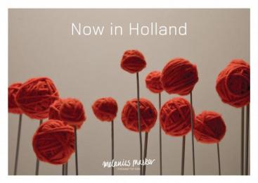 Knitwear For Kids: NOW IN HOLLAND Print Ad by Grey Copenhagen